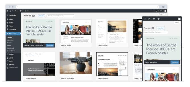 WordPressブログの例