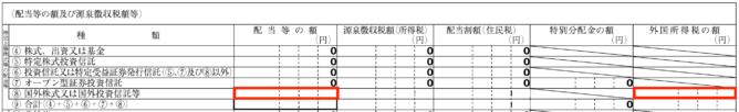 特定口座年間取引報告書の例