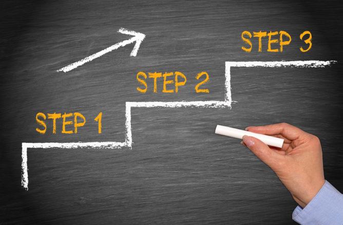 アフィリエイトを始める3つの手順
