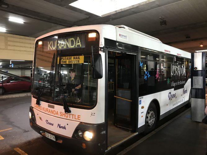 ケアンズでバスに乗る方法