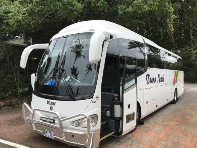 キュランダでバスに乗る方法